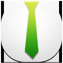 profile, tie