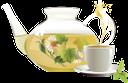чайник, стеклянный чайник, чай с мятой, чашка с блюдцем, ромашка, kettle, glass teapot, tea with mint, a cup and saucer, chamomile, wasserkocher, teekanne aus glas, tee mit minze, eine tasse und untertasse, kamille, bouilloire, théière en verre, thé à la menthe, une tasse et soucoupe, la camomille, hervidor de agua, tetera de vidrio, té a la menta, una taza y plato, manzanilla, bollitore, teiera di vetro, tè alla menta, una tazza e piattino, camomilla, chaleira, bule de vidro, chá com menta, uma xícara e pires, camomila