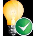 light, bulb, accept