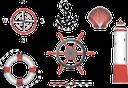штурвал корабля, якорь, спасательный круг, маяк, канат, роза ветров, море, ракушка, anchor, ship's steering wheel, life ring, wind rose, lighthouse, rope, shell, sea, anker, schiffs-lenkrad, rettungsboje, ein leuchtturm, seil, muscheln, meer, ancre, volant bateau, bouée de vie, un phare, corde, coquillages, mer, ancla, volante de la nave, salvavidas, cuerda, cáscaras, ancora, una nave volante, salvagente, un faro, conchiglie, mare, âncora, volante do navio, bóia salva-vidas, roza vetrov, um farol, corda, escudos, mar, якір, рятувальний круг, роза вітрів, черепашка