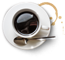 coffee cup, spoon, coffee, cup