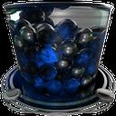 recycle bin full blue