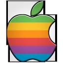 apple logo classic