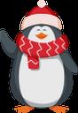 пингвин, шапка санта клауса, новый год, праздник, penguin, santa claus hat, new year, holiday, pinguin, weihnachtsmannmütze, neues jahr, feiertag, pingouin, chapeau de père noël, nouvel an, vacances, pingüino, sombrero de santa claus, año nuevo, vacaciones, pinguino, cappello di babbo natale, capodanno, vacanze, pinguim, chapéu de papai noel, ano novo, férias, пінгвін, новий рік, свято