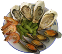 мидии, фасоль, тарелка с голубой каемкой, устрицы, креветки, морепродукты, тарелка с морепродуктами, mussels, beans, a dish with a blue border, oysters, shrimp, seafood, seafood dish, muscheln, bohnen, ein gericht mit einem blauen rand, austern, garnelen, fisch, meeresfrüchte-gericht, moules, les haricots, un plat avec une frontière bleue, les huîtres, les crevettes, les fruits de mer, plat de la mer, mejillones, frijoles, un plato con un borde azul, camarones, mariscos, plato de mariscos, cozze, fagioli, un piatto con un bordo blu, ostriche, gamberi, frutti di mare, piatto di pesce, mexilhões, feijão, um prato com uma borda azul, ostras, camarão, marisco, prato de marisco