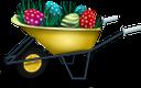 пасха, садовая тачка, крашенка, пасхальное яйцо, пасхальное украшение, праздник, праздничное украшение, easter, garden wheelbarrow, painted, easter egg, easter decoration, holiday, holiday decoration, ostern, gartenschubkarre, bemalt, osterei, osterdekoration, feiertag, feiertagsdekoration, pâques, brouette de jardin, peint, oeuf de pâques, décoration de pâques, vacances, décoration de vacances, pascua, carretilla de jardín, huevo de pascua, decoración de pascua, día de fiesta, decoración de vacaciones, pasqua, carriola da giardino, dipinto, uovo di pasqua, decorazione pasquale, vacanza, decorazione festiva, páscoa, carrinho de mão de jardim, pintado, ovo da páscoa, decoração da páscoa, feriado, decoração do feriado, паска, садова тачка, писанка, крашанка, великодня прикраса, свято, святкове прикрашання