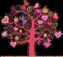 дерево с сердечками, любовь, бабочка, сердце, подарок, день святого валентина, schmetterling, tree with hearts, love, butterfly, heart, gift, st. valentine's day, baum mit herzen, liebe, schmetterlinge, herz, geschenk, valentinsgrußtag, arbre avec des coeurs, amour, papillon, coeur, cadeau, jour de valentines, árbol con corazones, mariposa, corazón, día día, albero con cuori, amore, farfalla, cuore, regalo, giorno di san valentino, árvore com corações, amor, borboleta, coração, presente, dia dos namorados