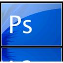 ps, icon, minimal