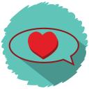 love talks icon