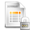 summary lock 128