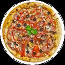пицца мясное ассорти, пицца с салями ветчиной оливками и сыром, pizza cold cuts, ham pizza with salami, black olives and cheese, pizza charcuterie, jambon pizza avec salami, olives noires et fromage, pizza de embutidos, jamón pizza de salami, aceitunas negras y queso, pizza salumi, prosciutto pizza con salame, olive nere e formaggio, frios de pizza, pizza com presunto salame, azeitonas pretas e queijo