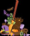 хэллоуин, праздник, праздничное украшение, летучая мышь, тыква, кот, метла, паук, бутылка, holiday, festive decoration, bat, pumpkin, cat, broom, spider, bottle, feiertag, festliche dekoration, fledermaus, kürbis, katze, besen, spinne, flasche, vacances, décoration festive, chauve-souris, citrouille, chat, balai, araignée, bouteille, vacaciones, decoración festiva, murciélago, calabaza, escoba, araña, botella, halloween, vacanze, decorazione festiva, pipistrello, zucca, gatto, ginestra, ragno, bottiglia, o dia das bruxas, feriado, decoração festiva, bastão, abóbora, gato, vassoura, garrafa de aranha, хеллоуїн, свято, святкове прикрашання, кажан, гарбуз, кіт, мітла, павук, пляшка