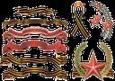 георгиевская лента, 9 мая, день победы, россия, красная звезда, st. george's ribbon, may 9, victory day, russia, red star, st.-georgs-band, 9. mai tag des sieges, russland, der rote stern, le ruban de saint-georges, le 9 mai, jour de la victoire, la russie, l'étoile rouge, la cinta de san jorge, 9 de mayo día de la victoria, rusia, la estrella roja, nastro di san giorgio, 9 maggio giorno della vittoria, la russia, la stella rossa, fita do st. george, 9 de maio, dia da vitória, a rússia, a estrela vermelha, георгіївська стрічка, 9 травня, день перемоги, росія, червона зірка