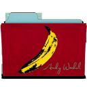 rebelheart warhol banana