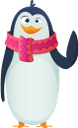 пингвин, новый год, праздник, penguin, new year, holiday, pinguin, neues jahr, feiertag, pingouin, nouvel an, vacances, pingüino, año nuevo, fiesta, pinguino, anno nuovo, vacanze, pinguim, ano novo, feriado, пінгвін, новий рік, свято