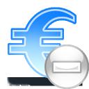 sign euro delete