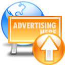 web advertising up 128