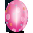 egg, pink
