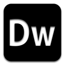 adobe dreamweaver black