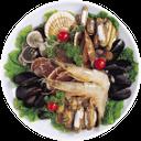 креветки, мидии, устрицы, морепродукты, листья салата, shrimp, mussels, oysters, seafood, salad leaves, garnelen, muscheln, austern, fisch, salat blätter, crevettes, moules, huîtres, fruits de mer, les feuilles de salade, gambas, mejillones, mariscos, ensalada de hojas, gamberetti, cozze, ostriche, frutti di mare, foglie di insalata, camarão, mexilhões, ostras, frutos do mar, salada de folhas