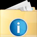 folder, info
