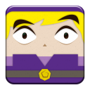 link purple block