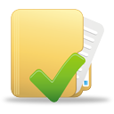 folder, accept