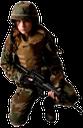 солдат, солдат с автоматом, девушка солдат, американский солдат, м 16, винтовка, оружие, каска, бронежилет, камуфляж, воин, современный воин, американская армия