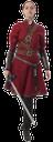 девушка воин, древний воин, средневековый воин, девушка с мечом, меч, оружие, старинное платье, принцеса, меч рыцаря, красный