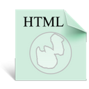 file other html