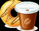 пончик, кофе, еда, десерт, coffee, food, kaffee, essen, beignet, nourriture, postre, ciambella, caffè, dessert, cibo, donut, café, sobremesa, comida, кава, їжа