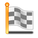 checkered, flag