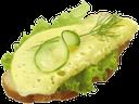 бутерброд с сыром и зеленью, листья салата, sandwich with cheese and herbs, lettuce, sandwich mit käse und kräutern, salat, sandwich avec du fromage et des herbes, de la laitue, sándwich con queso y hierbas, lechuga, panino con formaggio ed erbe, lattuga, sanduíche com queijo e ervas, alface