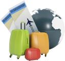 дорожный чемодан, путешествие, авиабилеты, глобус, travel suitcase, travel, air tickets, koffer, reisen, flüge, globus, valise, voyage, vols, globe, maleta, viajes, vuelos, valigia, viaggio, voli, mala de viagem, de viagens, voos, globo