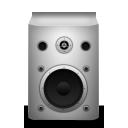 speaker, white