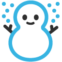 emoji, u2603