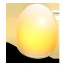 huevo, amarelo, luz