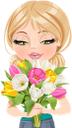 девушка, букет цветов, букет тюльпанов, любовь, люди, girl, bouquet of flowers, bouquet of tulips, love, people, mädchen, blumenstrauß, blumenstrauß aus tulpen, liebe, menschen, fille, bouquet de fleurs, bouquet de tulipes, amour, gens, niña, ramo de flores, ramo de tulipanes, gente, ragazza, mazzo di fiori, bouquet di tulipani, amore, persone, menina, buquê de flores, buquê de tulipas, amor, pessoas, дівчина, букет квітів, букет тюльпанів, любов