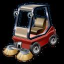 road, sweeper