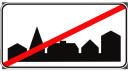 дорожный знак, информационно указательные знаки, конец плотной застройки, road sign, information signs, end of dense housing, verkehrszeichen, hinweisschilder, ende des dichten gehäuse, panneau routier, panneaux d'information, fin de logements denses, señal de tráfico, señales de información, fin de las condiciones de densa, cartello stradale, cartelli informativi, fine della costruzione compatta, sinal de estrada, sinais de informação, fim da construção cerrada