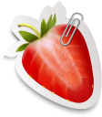 клубника, ягода, скрепка, этикетка, красный, strawberry, berry, label, red, erdbeere, beere, klammer, etikett, rot, fraise, baie, étiquette, rouge, fresa, baya, rojo, fragola, bacche, clip, etichetta, rosso, morango, baga, clipe, etiqueta, vermelho, полуниця, скріпка, етикетка, червоний