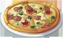 еда, пицца с салями и грибами, итальянская пицца, пицца с сыром, food, pizza with salami and mushrooms, italian pizza, pizza with cheese, essen, pizza mit salami und pilzen, italienische pizza, pizza mit käse, nourriture, pizza avec salami et champignons, pizza italienne, pizza au fromage, comida, pizza con salami y champiñones, pizza con queso, cibo, pizza con salame e funghi, pizza con formaggio, alimentos, pizza com salami e cogumelos, pizza italiana, pizza com queijo, їжа, піца з салямі і грибами, італійська піца, піца з сиром
