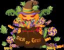 хэллоуин, праздник, праздничное украшение, тыква, мешок, сладости, конфеты, леденец на палочке, привидение, holiday, festive decoration, pumpkin, bag, sweets, candies, lollipop, ghost, feiertag, festliche dekoration, kürbis, tasche, süßigkeiten, lutscher, geist, vacances, décoration festive, citrouille, sac, bonbons, sucette, fantôme, vacaciones, decoración festiva, calabaza, bolsa, dulces, caramelos, piruleta, vacanza, decorazione festiva, zucca, borsa, dolci, caramelle, lecca-lecca, halloween, feriado, decoração festiva, abóbora, saco, doces, pirulito, fantasma, хеллоуїн, свято, святкове прикрашання, гарбуз, мішок, солодощі, цукерки, льодяник на паличці, привид