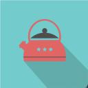 иконка чайник, иконка посуда, флэт иконки, icon kettle, icon kitchen equipment, icon dishes, flat icons, іконка чайник, іконка посуд, флет іконки