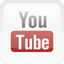 s icons, social media icons, glossy, round, corners, 512x512, 0004, youtube