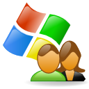 windows, users