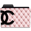 chanel pink and black