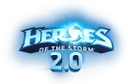 heroes of the storm logo, blizzard, moba, хотс, близзард
