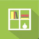 иконка книжная полка, иконка мебель, флэт иконки, icon bookshelf, furniture icon, flat icons, іконка книжкова полиця, іконка меблі, флет іконки