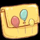 hp, folder, balloons